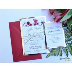 Zaproszenia ślubne Jesień...