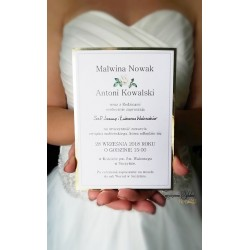 Zaproszenia ślubne Jasmine...