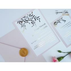 Zaproszenia ślubne Leila