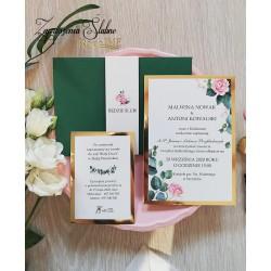 Zaproszenia ślubne Aurora