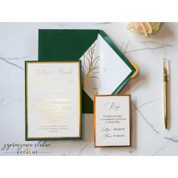 Zaproszenia ślubne Taida