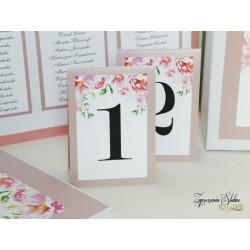 Numery stołów Ivette