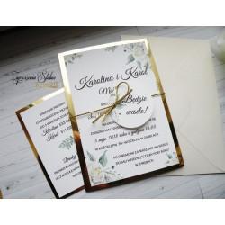 Zaproszenia ślubne Marina