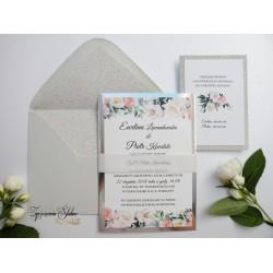 Zaproszenia ślubne Rosa