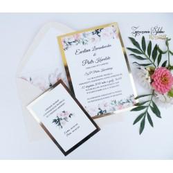 Zaproszenia ślubne Vivien