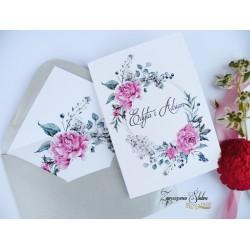 Zaproszenie ślubne Orsola