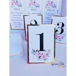 Numery stołów Tessa