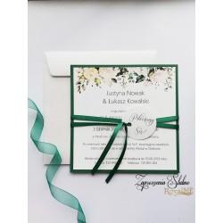 Zaproszenia ślubne Gardenia